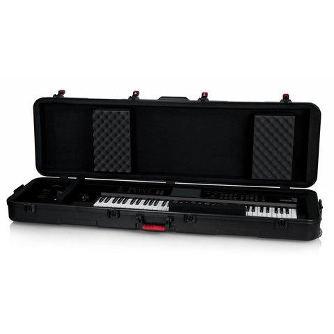 Gator GTSA-KEY88SLXL TSA ATA Slim XL 88-note Keyboard Case w/ Wheels