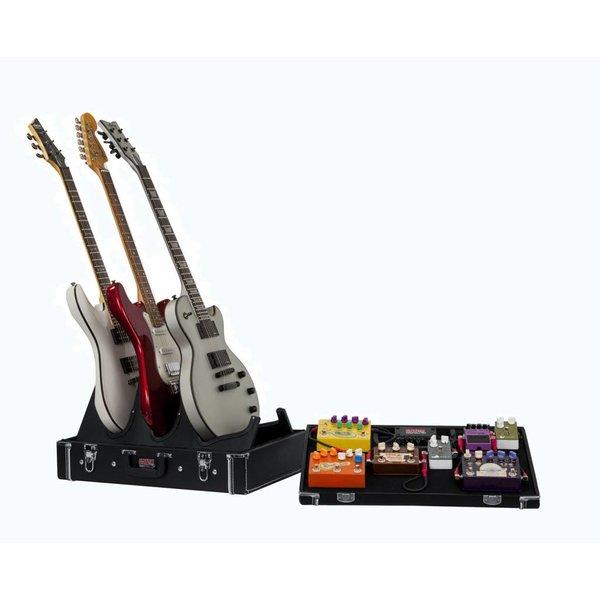 Gator Gator GW-GIGBOXJR Gig-Box Jr. Pedal Board/Guitar Stand Case