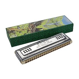 Hohner Hohner 56-C/G Echo 56 Harmonica (48 Hole Tremolo); Key of C/G
