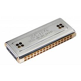 Hohner Hohner 54-C/G Echo 54 Harmonica (32 Hole Tremolo); Key of C/G