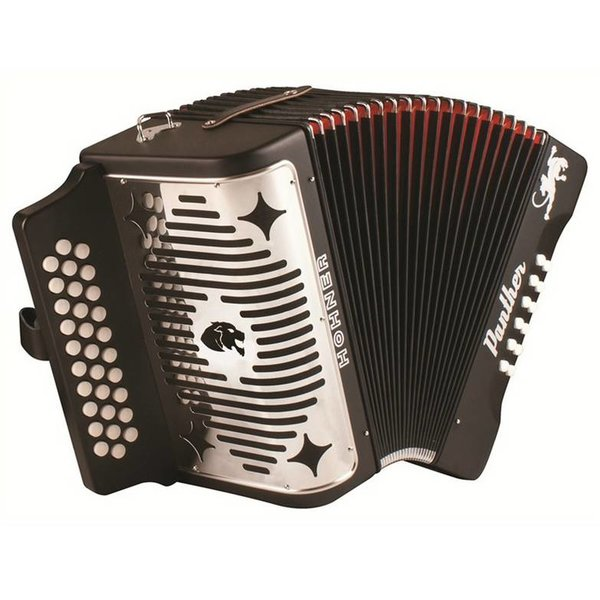 Hohner Hohner 3100GB Panther Diatonic Accordions GCF