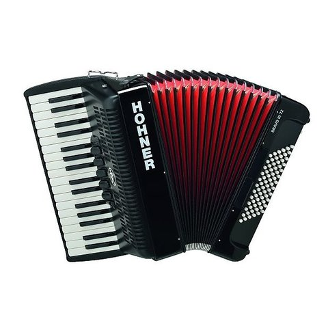 Hohner BR72B-N Accordion