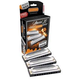 Hohner Hohner 3P560PBX Special 20 3-Pack Keys A C G