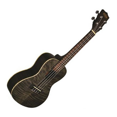 Kala Exotic Mahogany KA-TEMBK Tenor Ukulele Transparent Black Satin