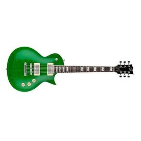 LTD LTD EC-256 Electric Guitar Flamed Maple See-Through Green