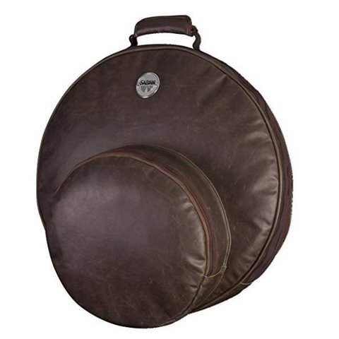 Sabian F22VBWN Sabian FAST 22 CYMBAL BAG in vintage brown