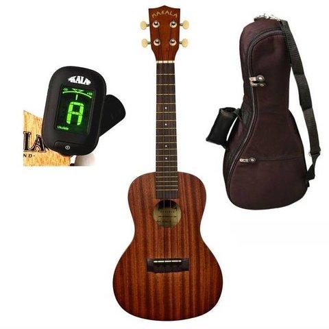 Makala MK-C/PACK Contains: Makala Concert Ukulele, Bag, Tuner, and Instructions
