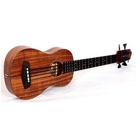 Kala Kala All Solid Acoustic/Electric UBASS-ASAC-FS U-Bass Fretted W/Case, Satin/All Solid Acacia