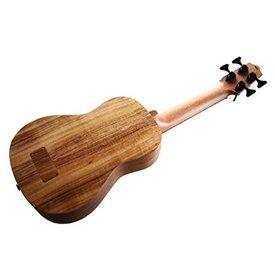 Kala Kala All Solid Acoustic/Electric UBASS-ASAC-FL U-Bass Fretless W/Case, Satin/All Solid Acacia