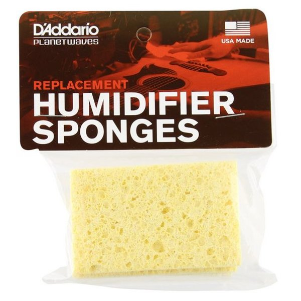 Planet Waves Planet Waves Acoustic Guitar Humidifier Replacement Sponges, 3 Pack