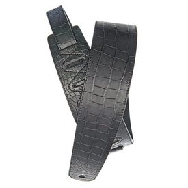 Planet Waves Planet Waves Alligator Leather Guitar Strap