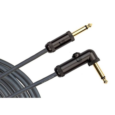 Planet Waves Circuit Breaker Instrument Cable, Right Angle, 20 feet