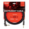 Planet Waves Circuit Breaker Instrument Cable, Right-Angle, 10 feet