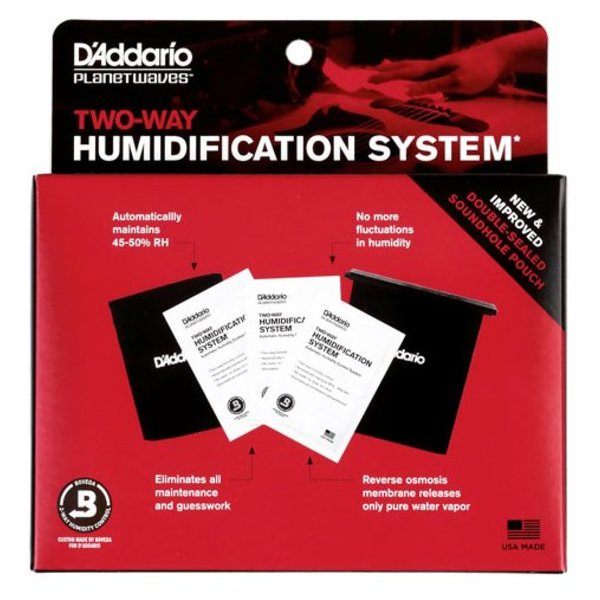 Planet Waves Planet Waves Humidipak Automatic Humidity Control System (for guitar)