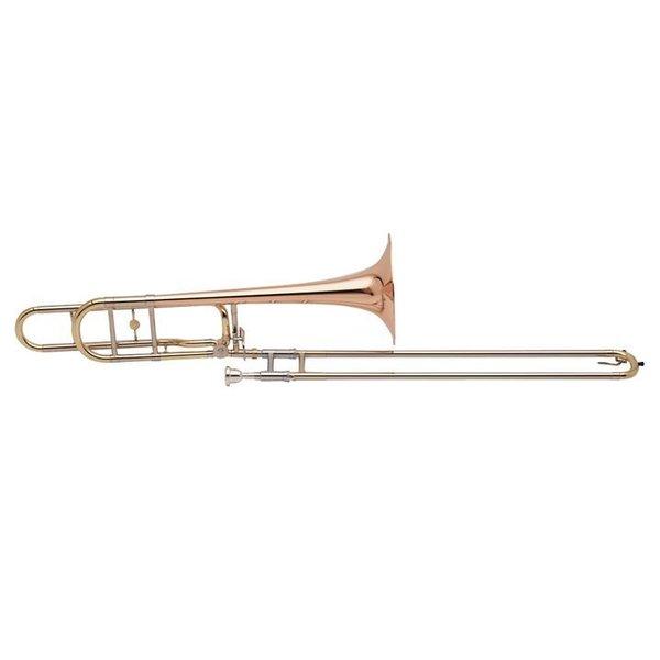 """Holton Holton TR160 Profess Tenor Trombone, Open Wrap, 9"""" Rose Brass Bell, Foam Case"""