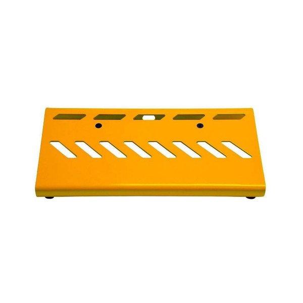 Gator Gator GPB-LAK-YE Yellow Aluminum Pedal Board; Small w/ Carry Bag
