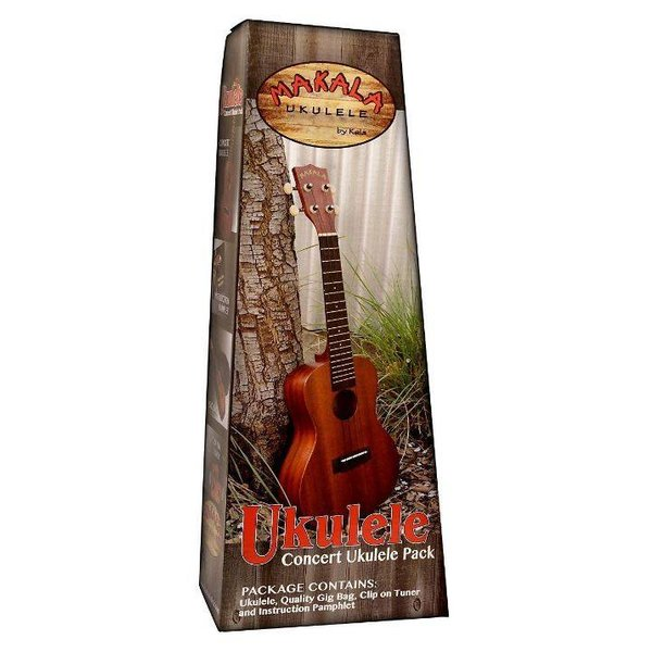 Makala Makala MK-S/PACK Contains: Makala Soprano Ukulele, Bag, Tuner, and Instructions