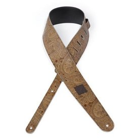 Planet Waves Planet Waves Paisley Guitar Strap, Tan