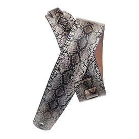 Planet Waves Planet Waves Python Leather Guitar Strap