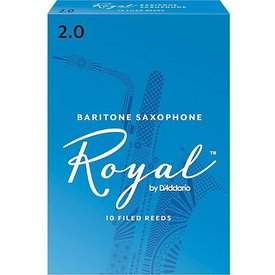 Rico Rico Royal Baritone Sax Reeds, Box of 10