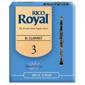 Rico Rico Royal Bb Clarinet Reeds, Box of 10