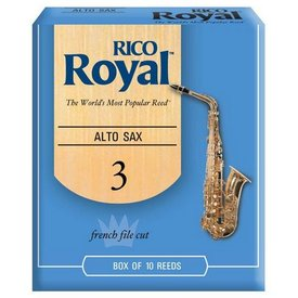 Rico Rico Royal Alto Sax Reeds, Box of 10