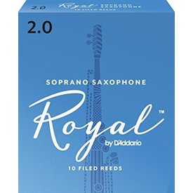 Rico Rico Royal Soprano Sax Reeds, Box of 10