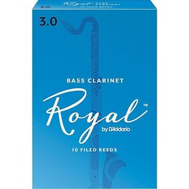 Rico Rico Royal Bass Clarinet Reeds, Box of 10