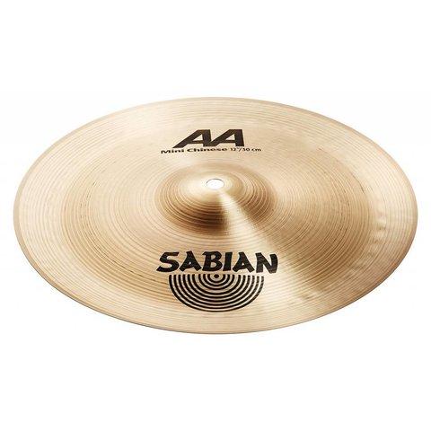 "Sabian 21216B 12"" AA Mini Chinese Brilliant Finish"