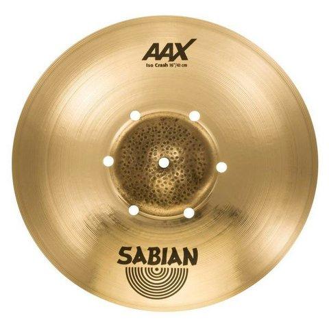 """Sabian 216XISOCB 16"""" AAX Iso Crash"""