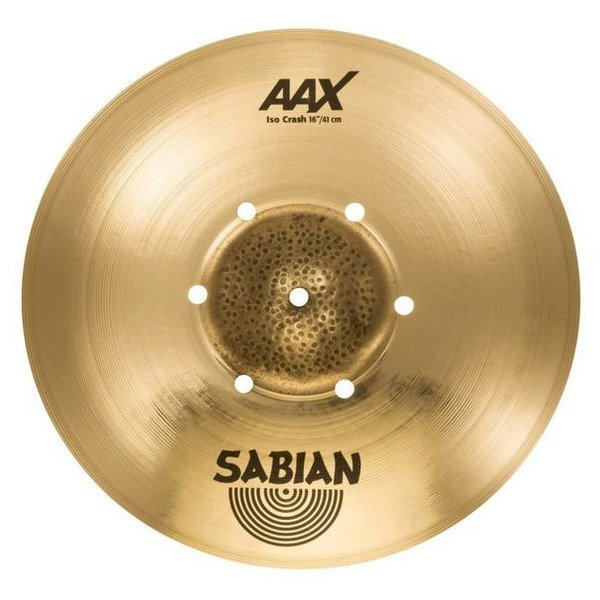 """Sabian Sabian 216XISOCB 16"""" AAX Iso Crash"""
