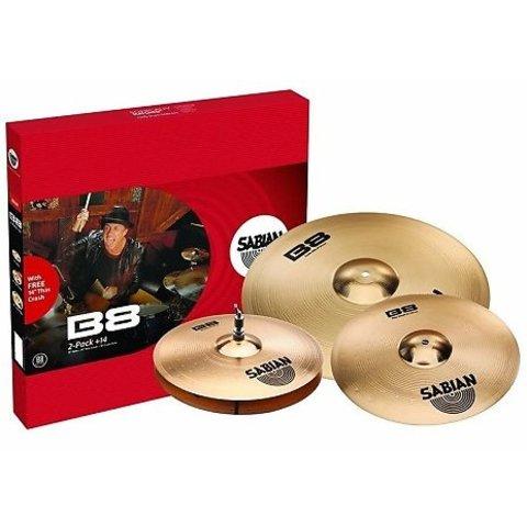 Sabian 45002-14 B8 2-Pack + 14