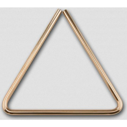 "Sabian 61134-9B8 9"" B8 Bronze Triangle"