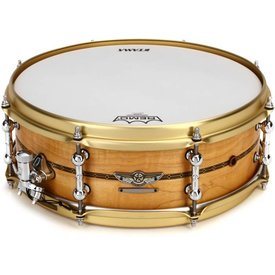 "TAMA Tama TLM145SOMP Star Series Reserve 5 x 14"" Solid Maple Snare Drum"