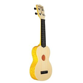 Makala Makala Waterman MK-SWS Composite Soprano Ukulele, Wrapped Swirl Orange