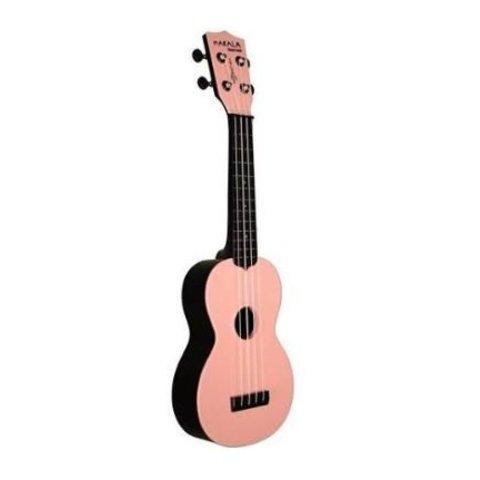 Makala Waterman MK-SWB Composite Soprano Ukulele, Solid Pink