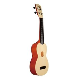 Makala Makala Waterman MK-SWT Composite Soprano Ukulele, Translucent Orange