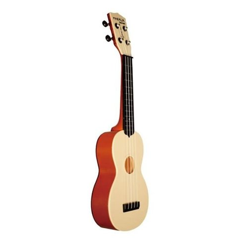 Makala Waterman MK-SWT Composite Soprano Ukulele, Translucent Orange