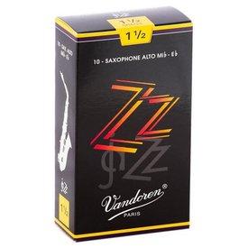 Vandoren Vandoren Alto Sax ZZ Reeds, Box of 10