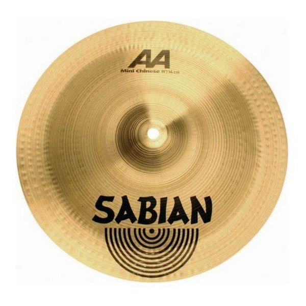"Sabian Sabian 21416B 14"" AA Mini Chinese Brilliant Finish"