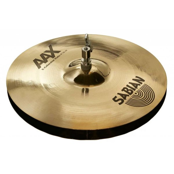 "Sabian Sabian 21402XLB 14"" AAX X-Celerator Hats Brilliant Finish"