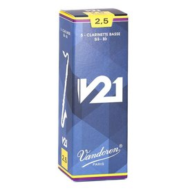 Vandoren Vandoren Bass Clarinet V21 Reeds, Box of 5