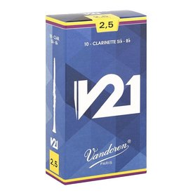 Vandoren Vandoren Bb Clarinet V21 Reeds, Box of 10