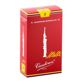 Vandoren Vandoren Soprano Sax Java Red Reeds, Box of 10