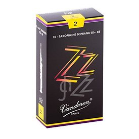 Vandoren Vandoren Soprano Sax ZZ Reeds, Box of 10