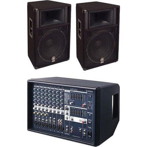 Yamaha EMX512SC/S115V BUNDLE 1 EMX512SC and 2 S115V