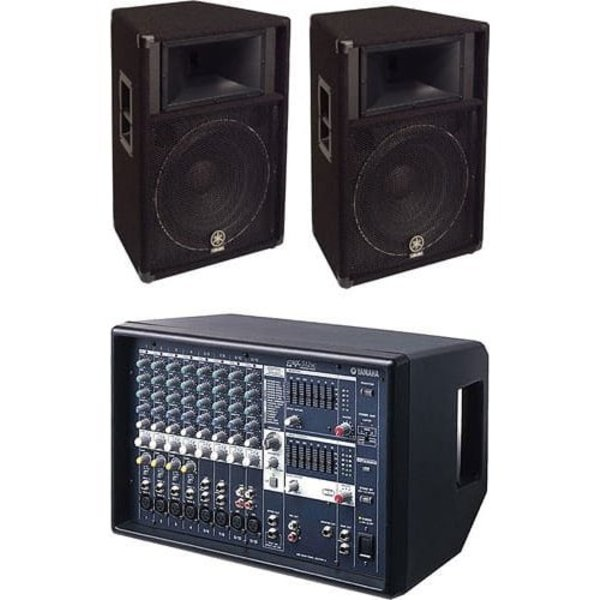 Yamaha Yamaha EMX512SC/S115V BUNDLE 1 EMX512SC and 2 S115V