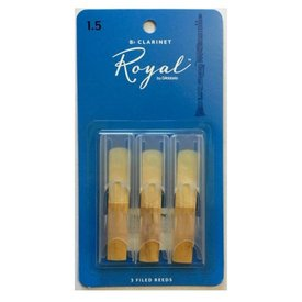 Rico Rico Royal Bb Clarinet Reeds, Box of 3
