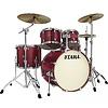 Tama VD52KRSVBG Silverstar Drum Kit Vintage Burgundy Sparkle
