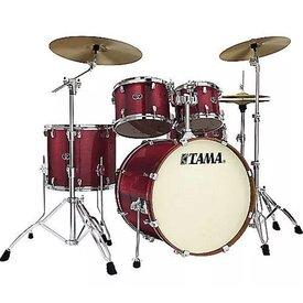 TAMA Tama VD52KRSVBG Silverstar Drum Kit Vintage Burgundy Sparkle